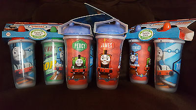 Playtex Playtime Thomas the Tank Train and Friends  - 12 Sippy Spout CUPS