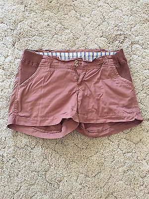 New Look Maternity brown shorts Size 10