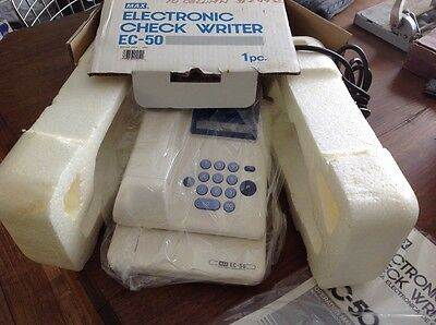 electronic check writer ec50