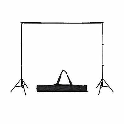 Ohuhu Photo Video Studio 10 Foot Adjustable Backdrop Support System Stand (No...