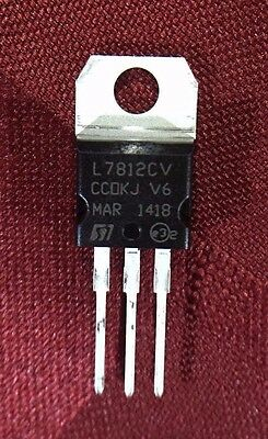 5 pcs x L7812 - 12V 1.5A Voltage Regulator - TO220 - US FREE Shipping