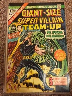 Giant-Size Super-Villain Team-Up First Issue Marvel Comic (March 1974)