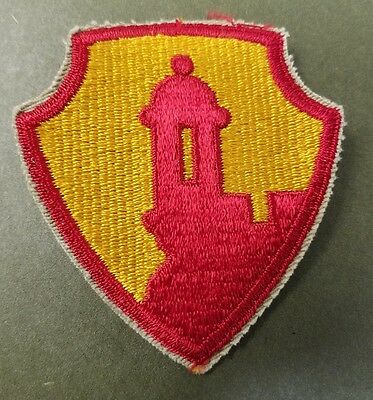 Us Army Antilles Department Puerto Rico Rican  Military Patch Morro Castle