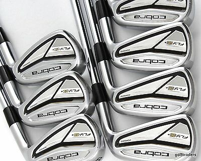 Cobra Fly-Z+ Forged Irons 4-Pw Kbs Tour Steel Stiff+ Flex - #d5499