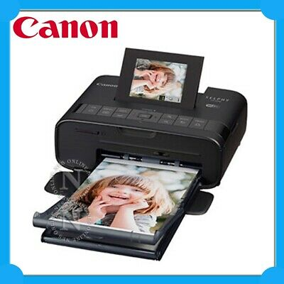 Canon SELPHY CP-1200BK Wireless Compact Photo Printer+WiFi Direct Print+AirPrint