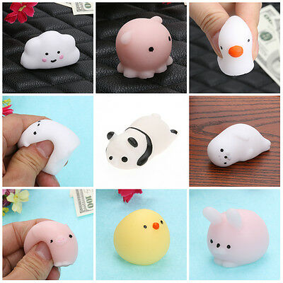 Stretchy Animal Cute Squishy Mini Squeeze Slow Rising Toy Healing Stress Decor