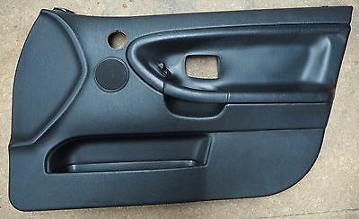 BMW 3' E36 Sedan Full Door Trim/Card Set Front & Rear Black OEM