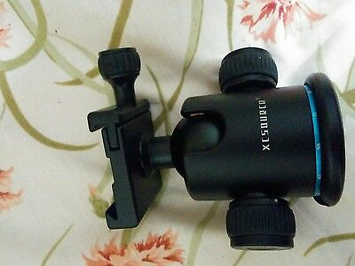 Heavy duty 360° Tripod Stand Ball Head with Quick Release Plate DSLR Camera US