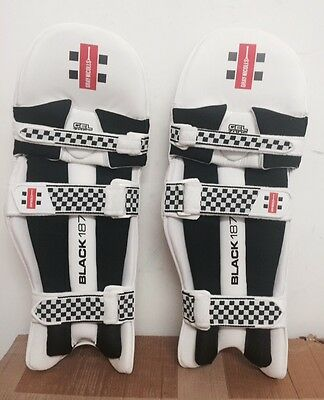 GN Black 1877 RH BNWT Men's Cricket Batting Pads RRP $149