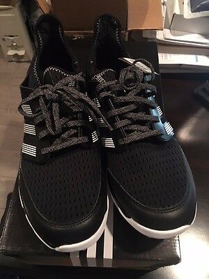 Brand NEW--Adidas Climacool F33223 Golf Shoes Black/White