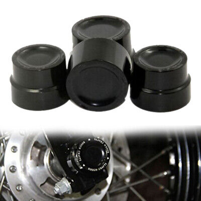 Front Rear Axle Nut Covers Bolt Kit For Harley Touring Electra Street Glide New