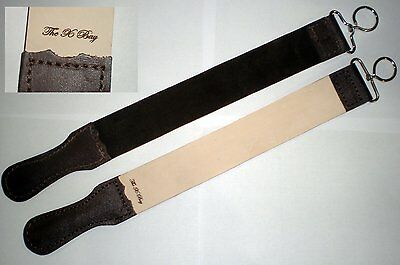 "Professional Leather BARBER STROP Straight Razor Sharpener 2"" X 20"""