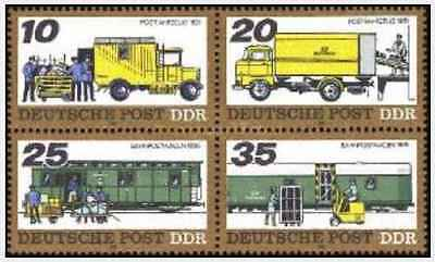 Timbres Transports RDA Allemagne 1969/72 ** lot 20714