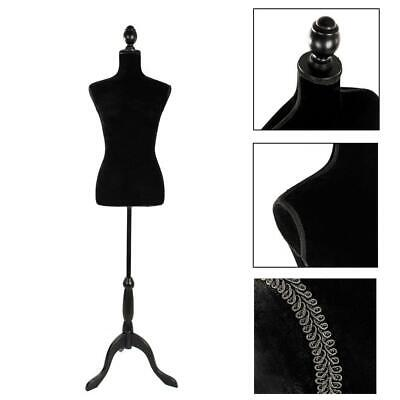 Female Mannequin Torso Dress Clothes Form Display W/ Black for showing clothes