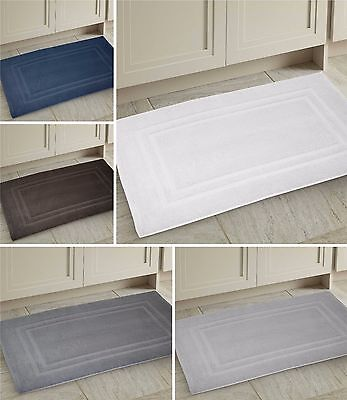 100% Egyptian Cotton Luxury Thick Bath Toilet Mat Rug Super Soft 60cm x 90cm