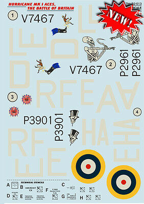 Print Scale 1/32 Hawker Hurricane Mk.I Aces - The Battle of Britain # 32013