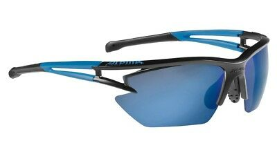 Alpina Sportbrille EYE-5 HR S CM+ - black matt-blue