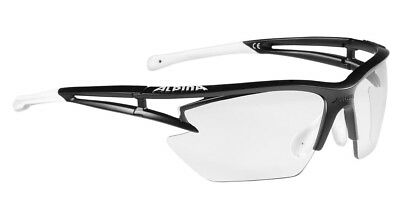 Alpina Sportbrille EYE-5 HR S VL+ - matt black-white