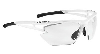 Alpina Sportbrille EYE-5 HR S VL+ - matt white-black