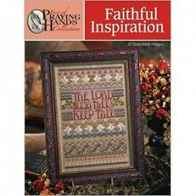 Faithful Inspiration Cross Stitch Chart/Pattern Book (Praying Hands)-37 Designs