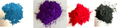 Metallic Colour Pigments for Epoxy Resin: 4 beautiful colours [25g each]