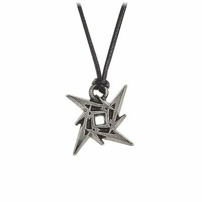Alchemy Poker Metallica: Ninja Star Pewter Pendant BRAND NEW