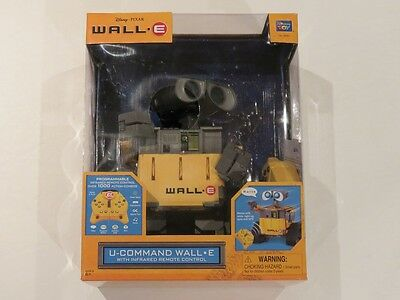 U-Command Wall-E R/C Robot. New in box. Mint. Disney Pixar. Thinkway Toys.