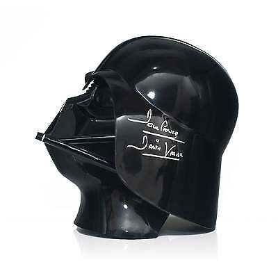 Darth Vader Signed Helmet Autographed Star Wars Memorabilia