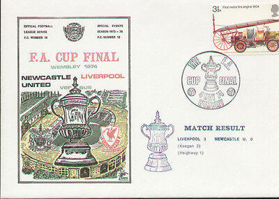 1974 FA Cup Final Dawn Cover Newcastle United V Liverpool - Rare