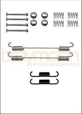 BOSCH TYPE REAR BRAKE SHOE FITTING KIT FIAT DOBLO 2001-/>2010 BSF0796A