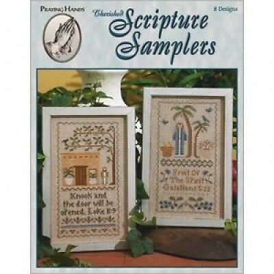 Cherished Scripture Samplers Cross Stitch Chart Book