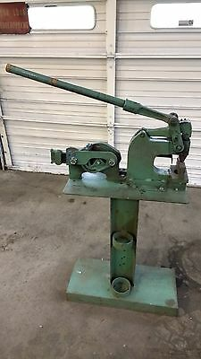 Roper Whitney Punch No 91-5 ton & Model 400-1 Rod Shear with stand / bench mount