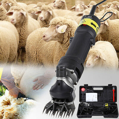 320W Electric Sheep Goats Shearing Clipper Shear  Supplies Alpaca Farm Shears