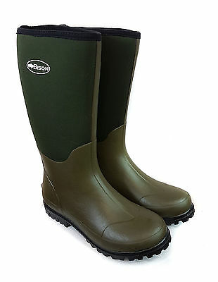 New Bison 6mm Neoprene Wellington Muck Boot
