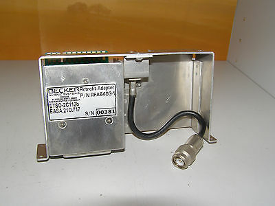 Becker Retrofit Adapter  BXP 6403 / KT 76 A   RFA 6403-1