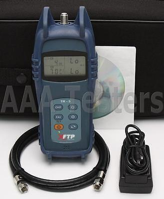 Trilithic XFTP TR-3 CATV Signal Level Meter 46 MHz to 1 GHz Frequency TR3