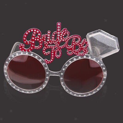 Bride to Be Sunglasses Hen Night Party Accessories Novelty Bag Favor