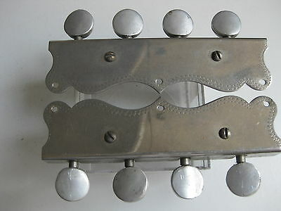 Vintage Fairbanks Leon Healy Mandolin Tuners Pegs Set for Project / Repair