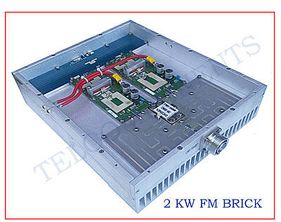FM  87.5-108MHz 2 kw (2000w)  RF amplifier pallets with AMPLEON BLF188XR BRICK