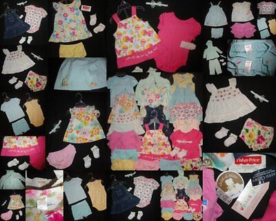 Girls Clothes 3-6 Months Dress Outfits Sets LOT NEW NWTS EUC GYMBOREE Summer