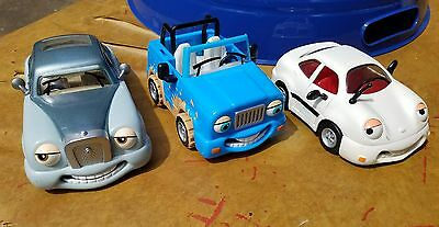 CHEVRON TOY CARS 3 PIECE MIXED LOT - # 1 # 24 and # 25 GOOD USED CONDITION