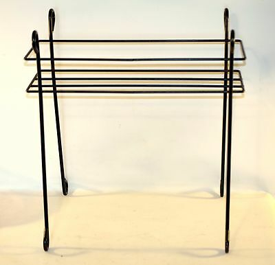 Indoor Vintage Patio Outdoor Green Rectangular Steel Plant Stand Metal