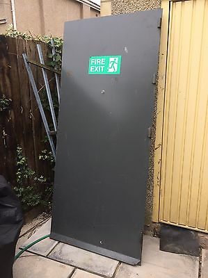 Heavy Duty Security Door With Frame Complete Unit Branded Soham !!reduced!!