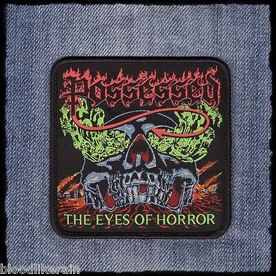 Possessed The Eyes Of Horror woven patch aufnäher