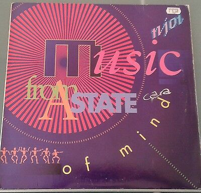 "N-joi Anthem 12""vinyl classic tune 2775-1-RD Deconstruction records 1990"