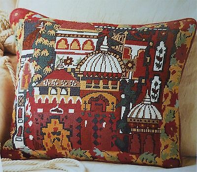 EHRMAN BANGALORE by ANNABEL NELLIST TAPESTRY NEEDLEPOINT KIT - RARE & RETIRED