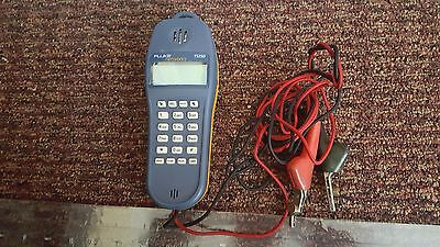 Fluke Networks TS25D Telephone Test Set With ABN Cord