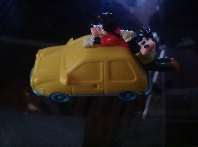 1995 goofy movie toy collectible riding a top car max and goofy
