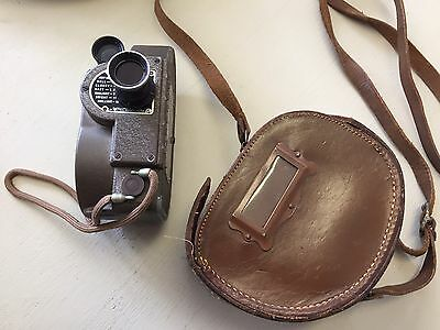 Vintage-The REVERE 8mm-Model 88-Double 8-Movie Camera w/ Case-Chicago