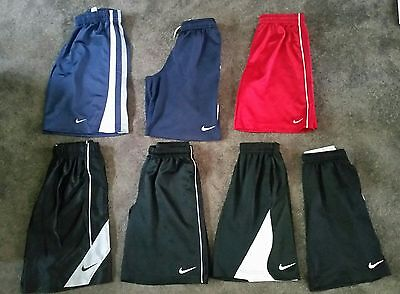 pre owned lot of 7 Nike boys shorts size small (8)